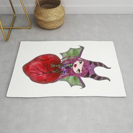 Dragon Princess Inspired Art Classic T-Shirt Rug
