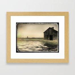 Vintage Flood Framed Art Print