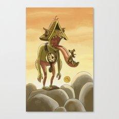 Goblins Drool, Fairies Rule! - Cuckoo Clock Canvas Print