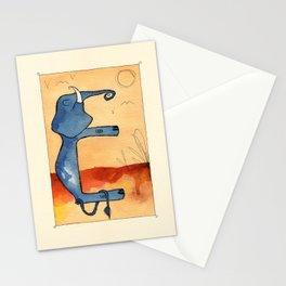 Animal's Alphabet - E for 'Elefante' Stationery Cards