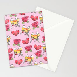 """Oro?"" Valentines Stationery Cards"