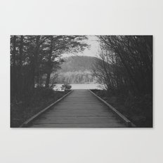 To The Lake Canvas Print