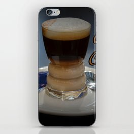 Cafe cortado iPhone Skin