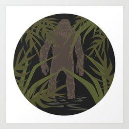 Skunk Ape Art Print