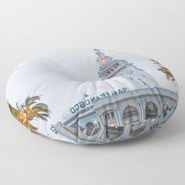 Port of San Francisco Floor Pillow