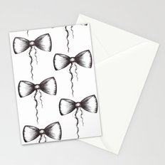 Bow Pattern Stationery Cards