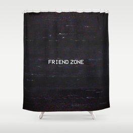 FRIEND ZONE Shower Curtain