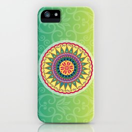 Mandala 2 iPhone Case