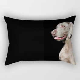 Weimaraner Rectangular Pillow