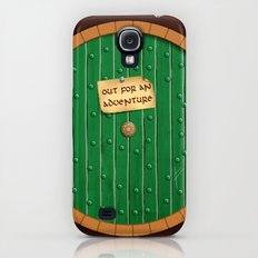 Out for an adventure - hobbit door Slim Case Galaxy S4