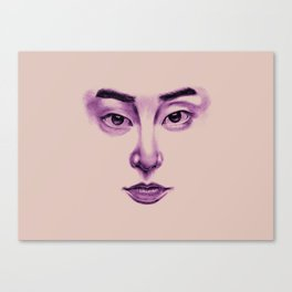 Glassy | Xiumin Canvas Print