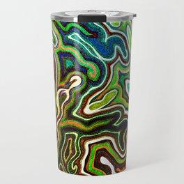 Abstract #1 - I Contrast Punch Travel Mug