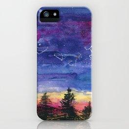 The Zodiac over Sequoia iPhone Case