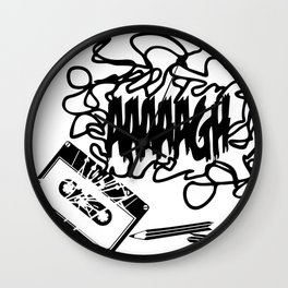 AAAGH Tape - Jam Wall Clock