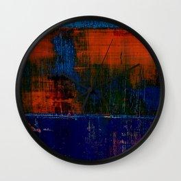 Simon Carter Painting Lake Woden Wall Clock