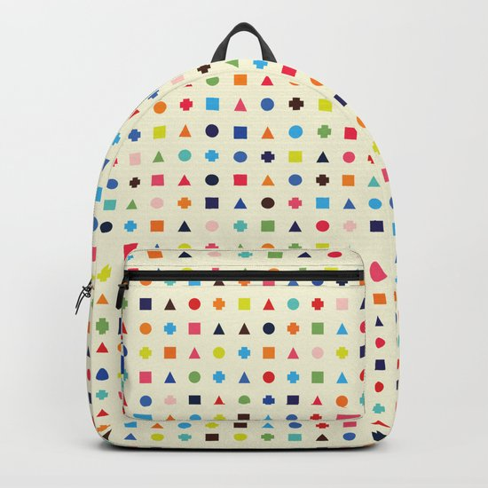 Dot Triangle Square Plus Repeat Backpack