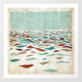 Sea Recollection Art Print