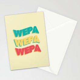 Wepa Wepa Wepa Stationery Cards