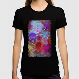 color burst T-shirt