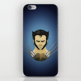 Hugh Jackman (wolvie) iPhone Skin