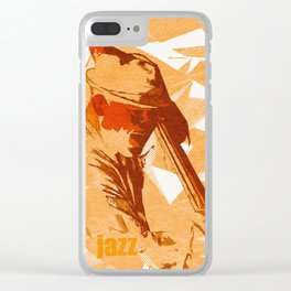 Jazz Fest Poster Clear iPhone Case