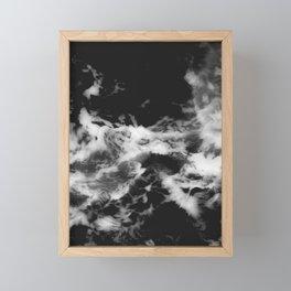 Waves of Marble Framed Mini Art Print