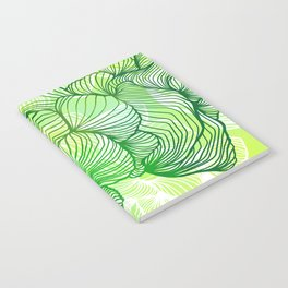 Green Flora Notebook