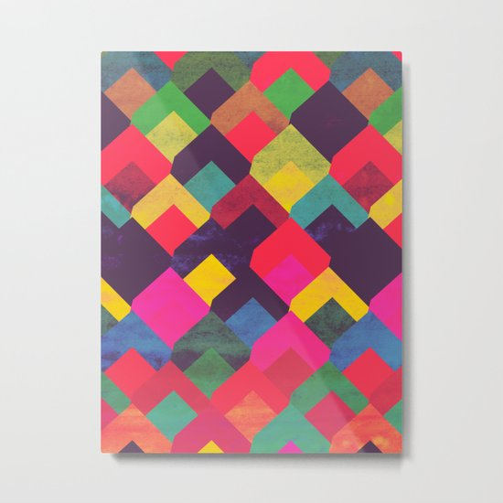 colour + pattern 11 Metal Print