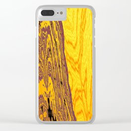 from yellow dunes to ugly shore Clear iPhone Case