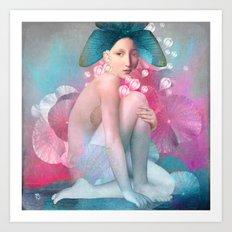 Water Maiden Art Print