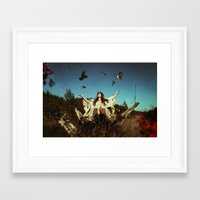 cycle Framed Art Prints featuring Cycle by MARY SCHUMACHER