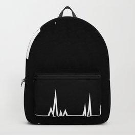 Turbo Heartbeat Gift JDM Turbocharger Backpack