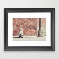 on the go:: brooklyn Framed Art Print