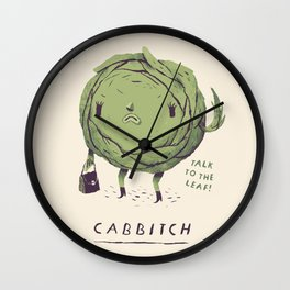 cabbitch Wall Clock