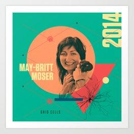Beyond Curie: May-Britt Moser Art Print