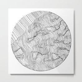Vertigo Adrift (Vector) Metal Print