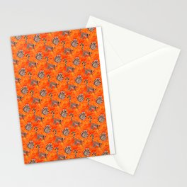 Ring-Tailed Lemurs in the Jungle Stationery Cards