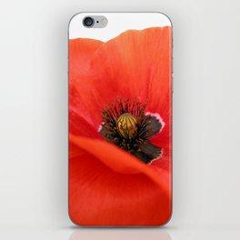 poppy II iPhone Skin