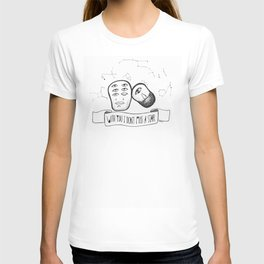 With you I don't miss a star T-shirt
