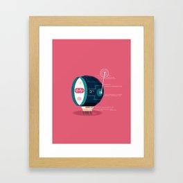 :::Mini Robot-Fos::: Framed Art Print