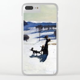 Rockwell Kent - Snow Fields, 1909 Clear iPhone Case