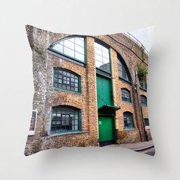 Emerald Green Throw Pillow