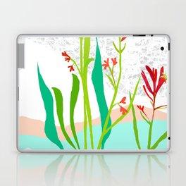 Kangaroo Paw Botanical Illustration Laptop & iPad Skin