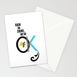 We're OK Stationery Cards