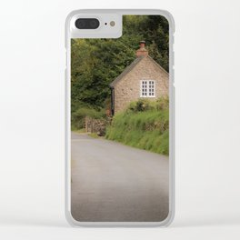 Dovedale Trail Cottage Clear iPhone Case