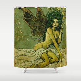 Absinthe La Fee Verte Shower Curtain