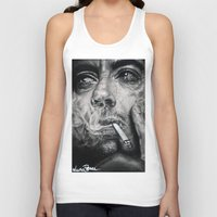 robert downey jr Tank Tops featuring Robert Downey JR by Luna Perri