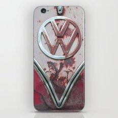 Pink Rusty VW iPhone & iPod Skin