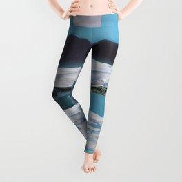 Arctic Aquamarine Leggings