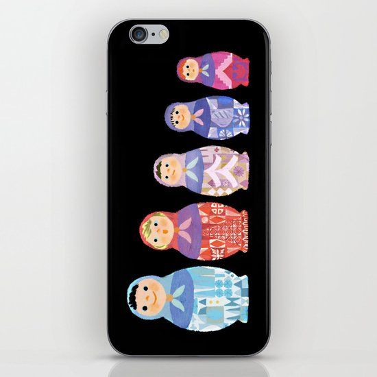 Small, Smaller, Smallest iPhone Skin